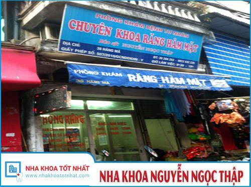 Nha khoa Nguyễn Ngọc Thập - 38 Hàng Mã, P. Hàng Mã, Q. Hoàn Kiếm