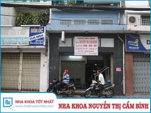 Nha Khoa Nguyễn Thị Cẩm Bình - 59 Trần Huy Liệu, Phường 12 , Phú Nhuận