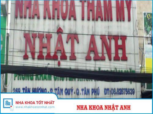 Nha khoa Nhật Anh - 269 Tân Hương, Phường Tân Quý, Tân Phú