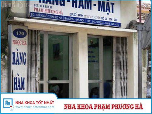 Nha khoa Phạm Phương Hà - 9 ngõ 170, Ngọc Hà, P. Ngọc Hà, Q. Ba Đình