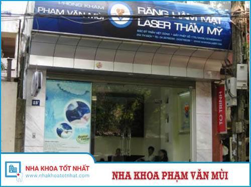 Nha khoa Phạm Văn Mùi - 25A Thi Sách, Q. Hai Bà Trưng