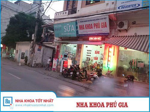 Nha khoa Phú Gia - 24 Phú Gia, P. Phú Thượng, Q. Tây Hồ