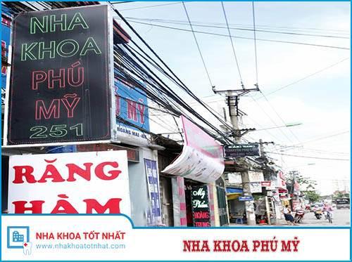 Nha Khoa Phú Mỹ - 251 Lĩnh Nam, Hoàng Mai, Hà Nội.