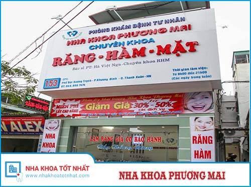 Nha Khoa Phương Mai - 153 Bùi Xương Trạch, Khương Đình, Thanh Xuân