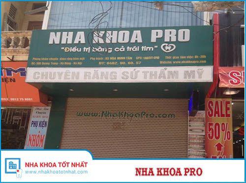 Nha khoa Pro - 506 Quang Trung, Hà Đông, Hà Nội