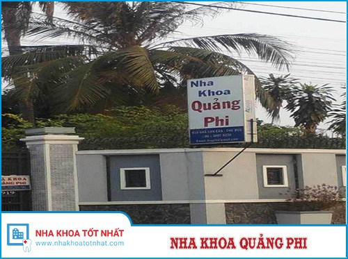 Nha khoa Quảng Phi - 919 Kha Vạn Cân, Quận Thủ Đức