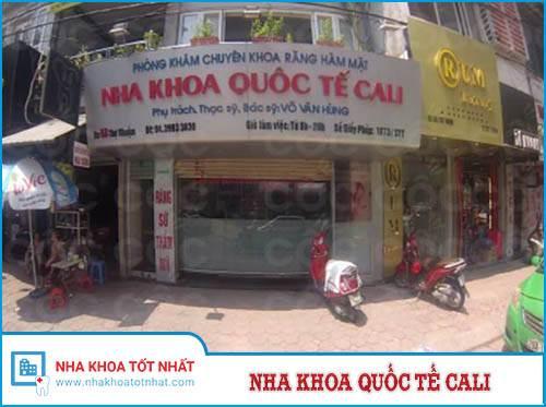 Nha khoa Cali - 58 phố Thợ Nhuộm, P. Trần Hưng Đạo, Q. Hoàn Kiếm