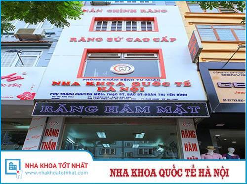 Nha Khoa Quốc Tế Hà Nội - 82 Tân Mai, Hoàng Mai, Hà Nội
