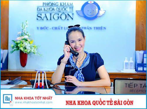 Nha Khoa Quốc Tế Sài Gòn Tuyển Lễ Tân