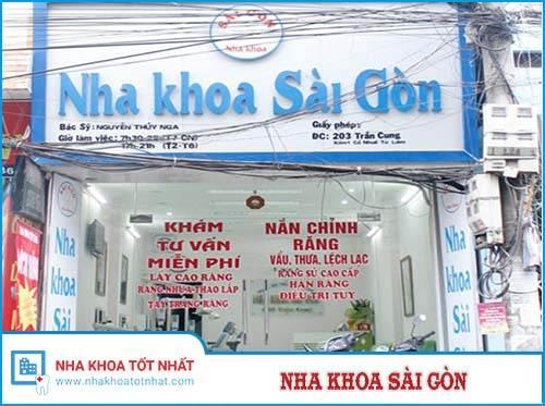 Nha Khoa Sài Gòn - 203 Trần Cung - Từ Liêm - Hà Nội