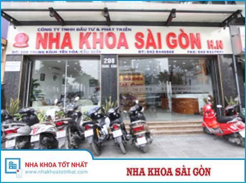 Nha khoa Sài Gòn - 376 Trần Khát Chân, Q. Hai Bà Trưng, Hà Nội