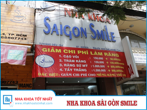 Nha Khoa Saigon Smile - 70 Hoàng Diệu, Phường 12, Quận 4, TP.Hồ Chí Minh