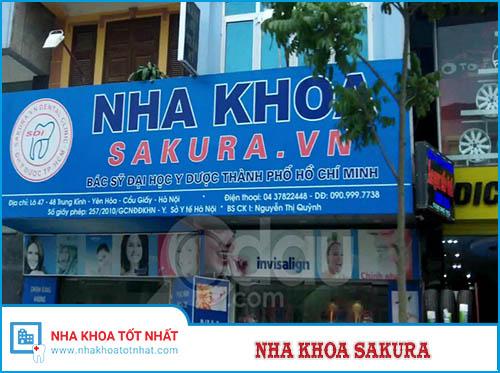 Nha Khoa Sakura - 48 Trung Kính, Yên Hòa, Cầu Giấy, Hà Nội