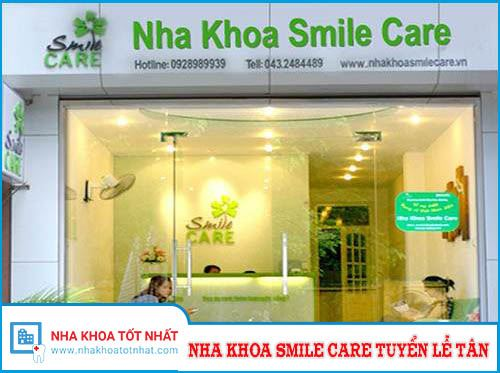 Nha Khoa Smile Care Tuyển Tiếp Tân