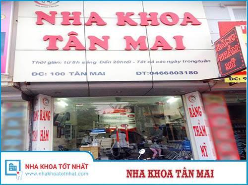 Nha Khoa Tân Mai - 100 Tân Mai, Hoàng Mai, Hà Nội