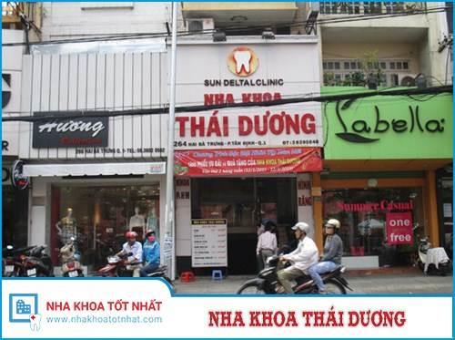Nha khoa Thái Dương - 264 Hai Bà Trưng, P. Tân Định, Q.1, TPHCM