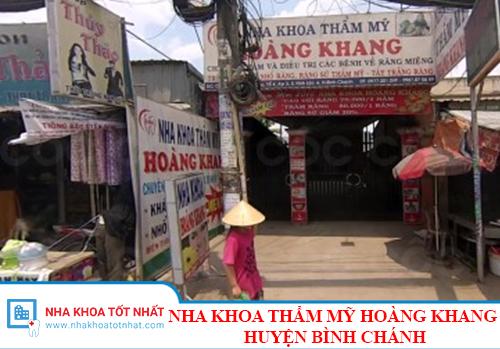 Nha Khoa Thẩm Mỹ Hoàng Khang - C3/7A, Nữ Dân Công, Xã Vĩnh Lộc A, Huyện Bình Chánh