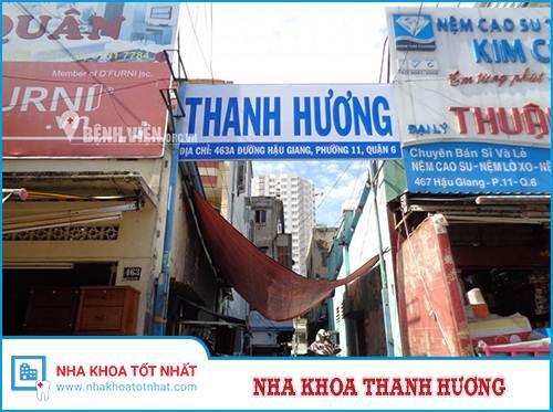 Nha Khoa Thanh Hương - 463A Hậu Giang, Phường 11 , Quận 6