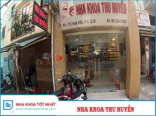 Nha Khoa Thu Huyền - 173 Vĩnh Viễn, Phường 4 , Quận 10