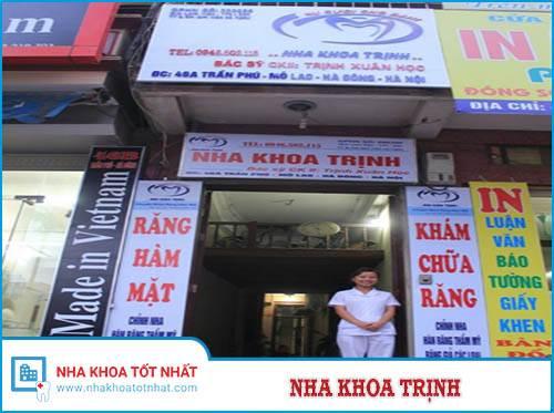 Nha Khoa Trịnh - 521 Thụy Khuê, Q. Tây Hồ, Hà Nội