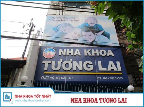 Nha khoa Tương Lai - 76/1, Võ Thị Sáu, P. Tân Định, Q. 1