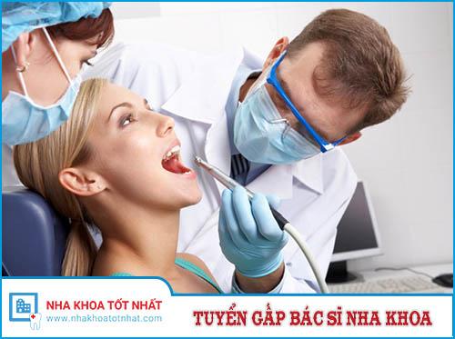 Bệnh Viện Răng Hàm Mặt Việt Anh Đức Tuyển Gấp Bác Sĩ Nha Khoa