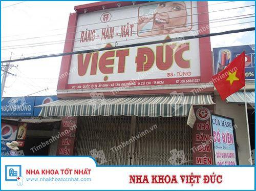 Nha khoa Việt Đức - 304 Quốc lộ 22, Xã Tân Phú Trung, Huyện Củ Chi