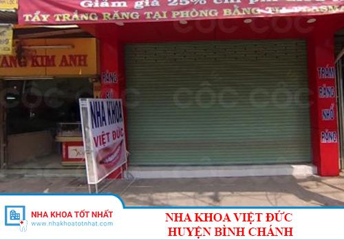 Nha Khoa Việt Đức - B1/1/7A, Quốc Lộ 50, Xã Đa Phước, Huyện Bình Chánh