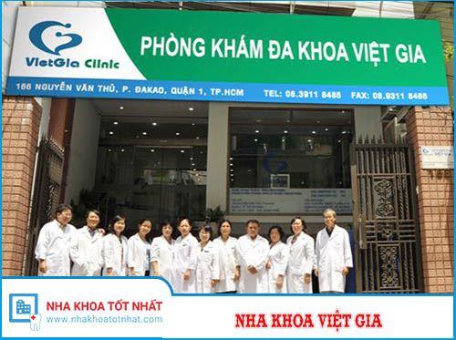 Nha Khoa Việt Gia - 166 Nguyễn Văn Thủ, Phường Đa Kao , Quận 1