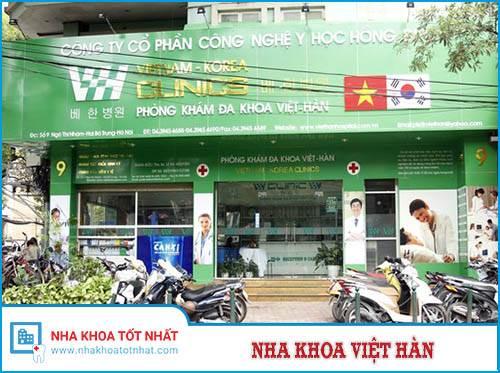 Nha Khoa Việt Hàn - 9 Ngô Thì Nhậm, Hai Bà Trưng, Hà Nội