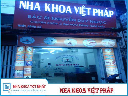 Nha Khoa Việt Pháp - 29 ngõ 165 Xuân Thủy, P. Dịch Vọng , Q. Cầu Giấy