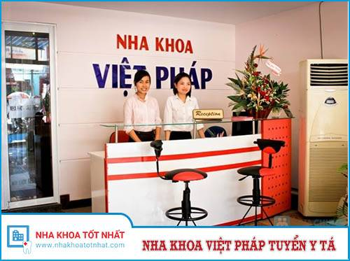 Nha Khoa Việt Pháp Tuyển Y tá