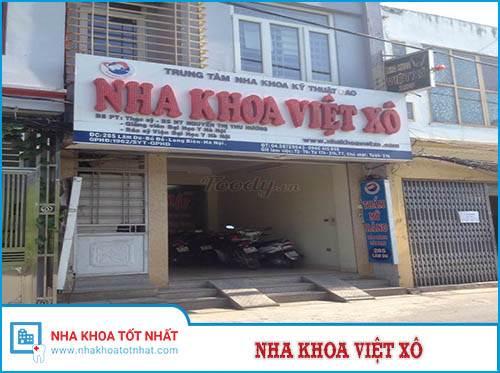 Nha khoa Việt Xô - 285 Lâm Du, P. Bồ Đề, Q. Long Biên