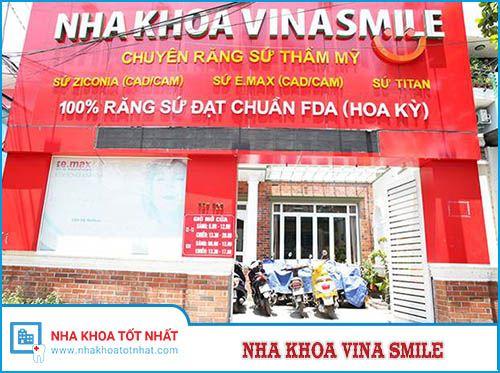 Nha khoa VinaSmile Số 797-799 Âu Cơ, P. Tân Thành, Q. Tân Phú