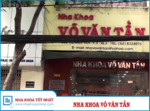 Nha khoa Võ văn Tần - 360 Võ Văn Tần, Phường 5 , Quận 3