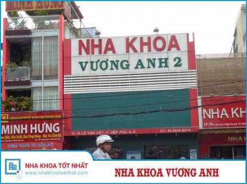 Nha khoa Vương Anh số 11-13-15 Đường Lê Văn Việt, P. Hiệp Phú, Q. 9