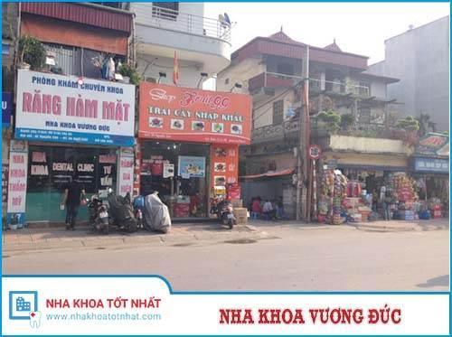 Nha khoa Vương Đức - 97 Nguyễn Sơn, P. Gia Thụy, Quận Long Biên