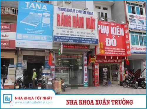 Nha Khoa Xuân Trường - 29 Thanh Nhàn, P.Quỳnh Mai, Q.Hai Bà Trưng
