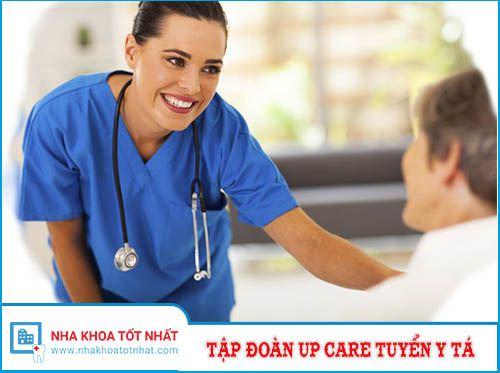 Tập đoàn Up Care Tuyển Y Tá Nha Khoa