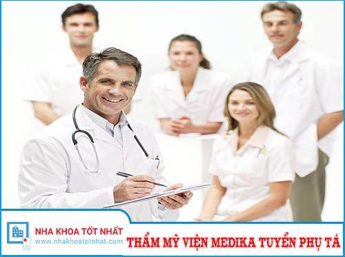 Thẩm mỹ Medika Tuyển Trợ Thủ Nha Khoa