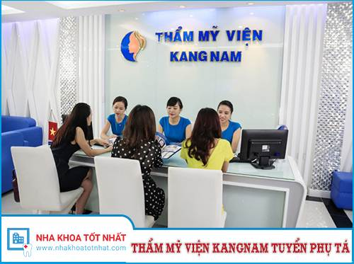 Thẩm Mỹ KangNam Tuyển Trợ Thủ Nha Khoa