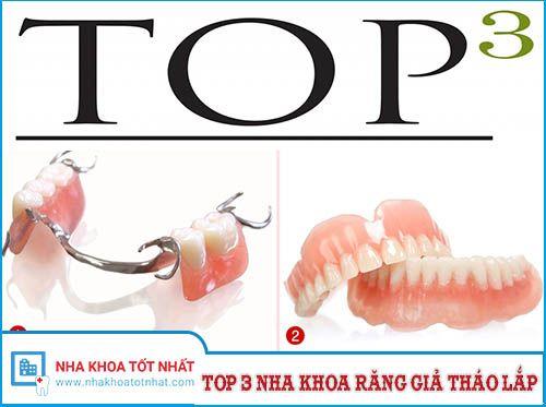 [REVIEW] Top 3 Nha Khoa Làm Răng Giả Tháo Lắp Tại Hà Nội