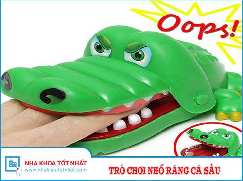 Trò Chơi Nhổ Răng Cho Cá Sấu